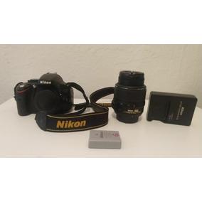 Câmera Nikon D5100 + Lente 18 - 55