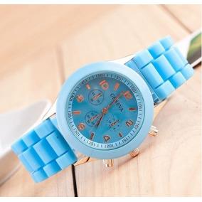 c73225245e9 Relógio Geneva Colorido (azul Royal) - Relógios De Pulso no Mercado ...