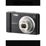 Camara Digital Sony Dsc-w800 20.1 Megapixeles Color Negra Ob