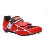 Sapatilha Speed Road Spiuk Brios 15 Vermelha C/ Catraca