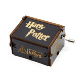 Caixinha Caixa De Música Harry Potter (manivela) Linda