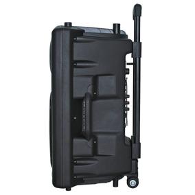 Caixa De Som 300w Com Bluetooth E Microfone D-bh3201