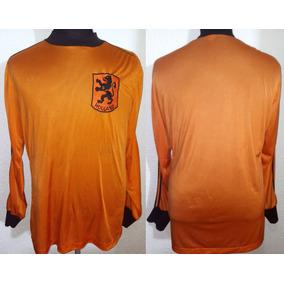Camiseta De Holanda adidas Mangas Largas De Los 80 !!!