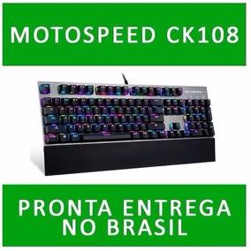 Teclado Gamer Mecanico Motospeed Ck108 Rgb (pronta Entrega)