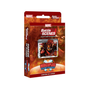 Battle Scenes Marvel Múltipla Identidades Parede Plasma 8921