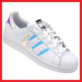 b226ab723de53 Precio. Publicidad. Tenis adidas Superstar Tornasol Iridescent Con Caja  Enviogra