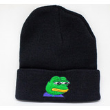 Touca De Lã Gorro Frio Sad Boy Frog Cry Swag Estilosa Style d13f7434f3e