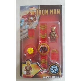 Reloj Infantil Lego Compatible Avengers, Batman, Frozen