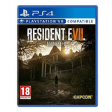 Ps4 - Juego Resident Evil 7
