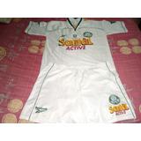 Camisa Palmeiras Branca Reebok 1998