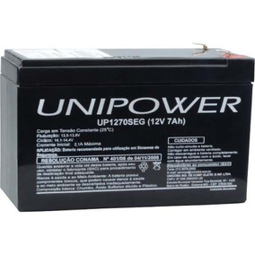 Bateria P/ Nobreak Unipower Unicoba 12v 7ah Mod.up1270seg
