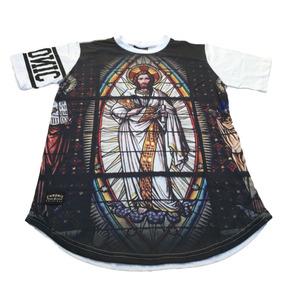 Camiseta Chronic Vitral Jesus Cristo Blindado - Camisetas e Blusas ... 0eb91f0f524