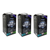 Kit 3 Whey Protein Refil 6kg Isolado 5w Dark Insane Promoção