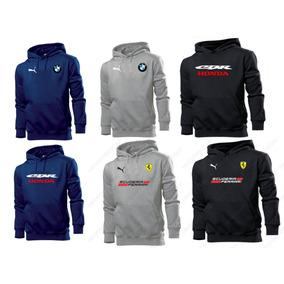 Blusa Moleton Canguru Motogp - Formula 1 - Corrida - Estampa 016be381f2ee4