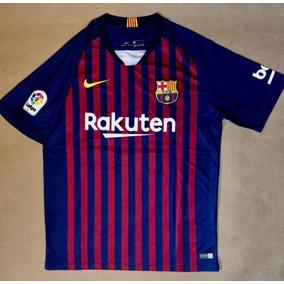 Playera Del Barcelona Azul Messi en Mercado Libre México 1c7383d8c2e