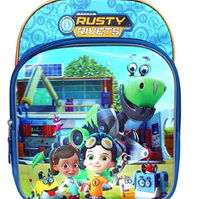 Rusty Rivets Yarda De Gadgets Mochila Para Ninos 15 X26quot