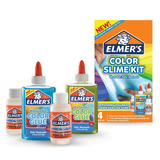 Color Slime Kit Elmers Kit Com 2 Color Glue 2 Magical Liquid