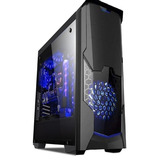 Case Gamer Halion Phantom 8804 Con Fuente Real 500w