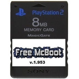 Memory Card 8mb Ps2 + Chip Virtual Listo Para Jugar Por Usb