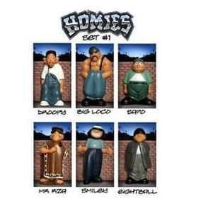 Homies Serie 1 Mr. Raza Sapo Smiley Big Loco 8-ball & Droopy