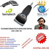 Scanner Bematech Barcode Br400, Led, Usb, 1d.