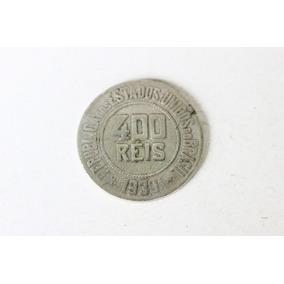 Moeda De 400 Réis De 1930