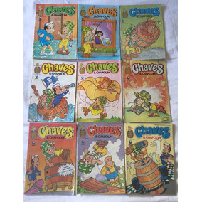 Lote 7 Gibis Chaves E Chapolin