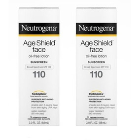 Kit 2 Protetor Solar Neutrogena Age Shield Face Spf110