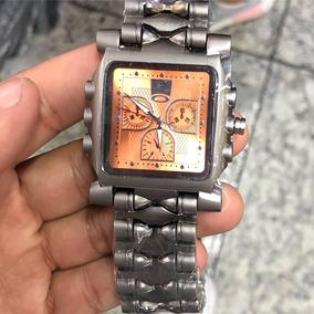 7d4bcfa6bd7 Oakley Minute Machine Fundo Laranja - Relógios no Mercado Livre Brasil