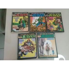 Lote Hq Judas N° 1,8,9,11 E 13 Ed. Record 1989
