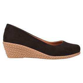 Sapato Scarpin Salto Alto Anabela Confort Chiquiteira Wlh