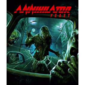 Annihilator Feast Cd Bonus Dvd