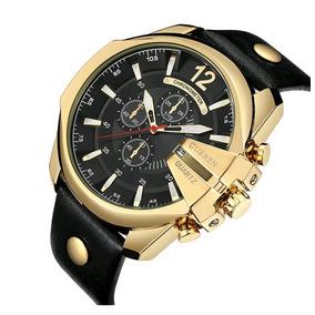 Relógios De Pulso Curren A Prova Dágua Frete Grátis Promoção