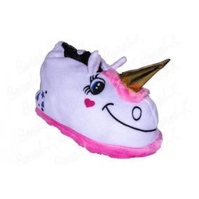 Pantuflas Unicornio Mujer Dama Nenas Invierno Casa Andrea