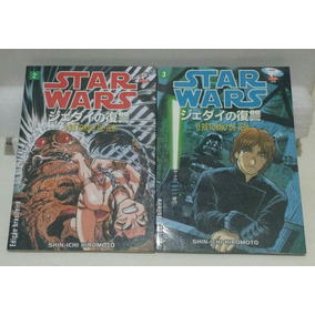 Star Wars Mangá - O Retorno Do Jedi - Ed. 2 E 3 Das 4 - Jbc