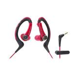 Audífono Ath-sport1rd, Color Rojo, Audiotechnica