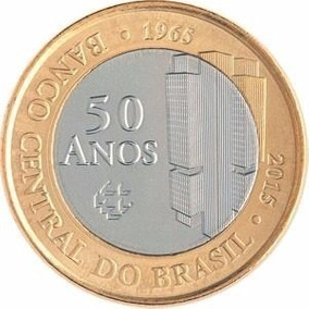 Moeda 1 Real 50 Anos Banco Central