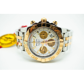 Relógio Breitling Cronomat B01 (2-tones)