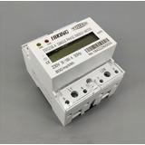 Medidor Consumo De Energia Elétrica Kwh Wattimetro 220v 100a