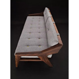 Sofa En Madera Parota