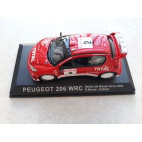 Peugeot Wrc 206 1/43 Richard Burns 2003 Altaya
