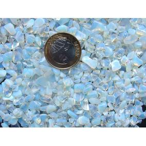 Exclusividade!! Pedra Da Lua Rolada 0,3 A 1cm Pacote De 50gr