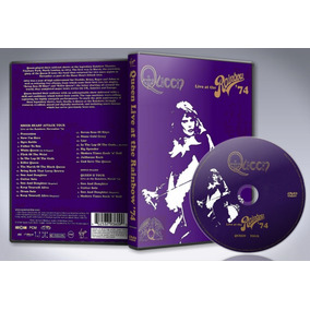 Dvd Queen - Live At The Rainbow 74 Full