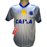 Camisa Cruzeiro Cinza Nova 2018 2019 Bi Campeão Copa Brasil 6563594a798c1