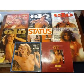Revistas Xuxa Combo Com 6 + 2 Agendas 1982 - Raridade