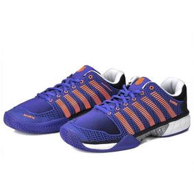 Tênis Hypercourt Express Masculino Azul E Laranja K-swiss