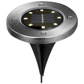 8 Leds Lámpara Luz De Solar Camino Jardín Al Aire Libre