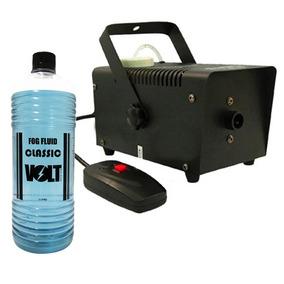 Máquina De Fumaça 600w Controle Remoto S/fio +fluido 127v
