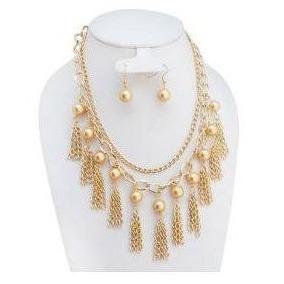 b20878715930 Collares De Color Coral - Collares y Cadenas Oro Sin Piedras en ...