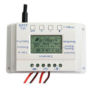 Controlador De Carga Solar 20a Mppt 12/24v T20 ( Off Grid )